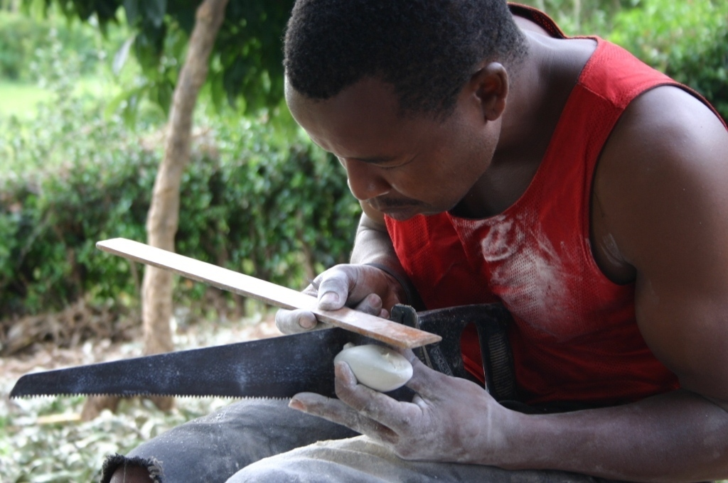 kamenická výroba, Tabaka, Keňa (foto: Hana Morávková)