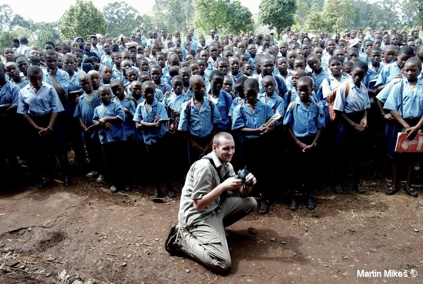 školáci, Kedjom-Keku, Kamerun (foto: Martin Mikeš)