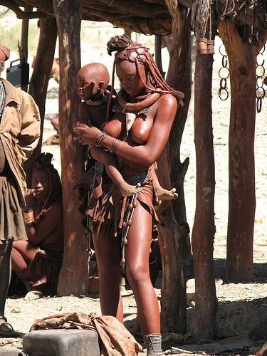 Himba - matka (foto: Jan Kopčil)