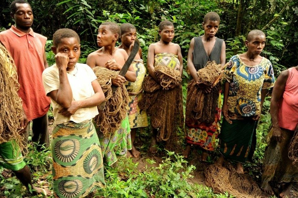 Skupina lovkyň BaAka