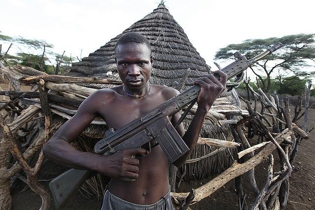 Steve Evans: bojovnik kmene Toposa