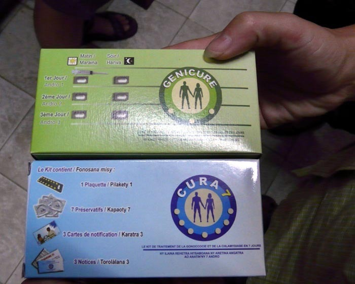 Léky proti HIV, Madagaskar