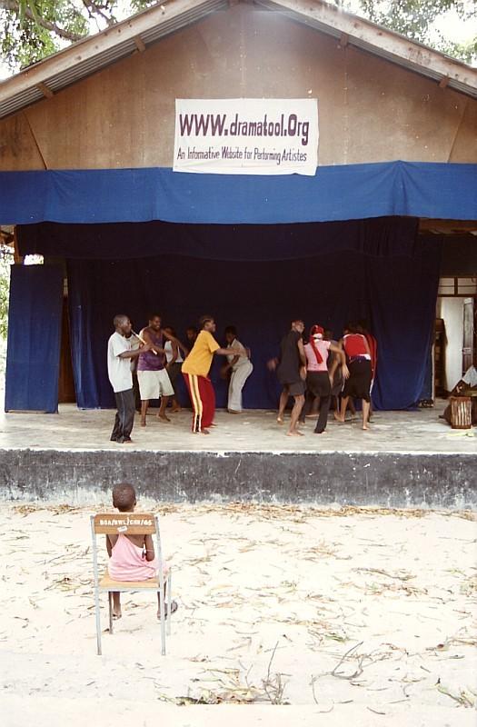 Hudební škola, Bagamoyo, Tanzanie (foto: Jaromír Němec)