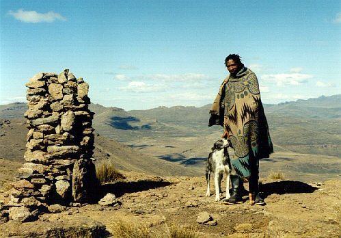 Pastevec Lesotho (národ Sotho)