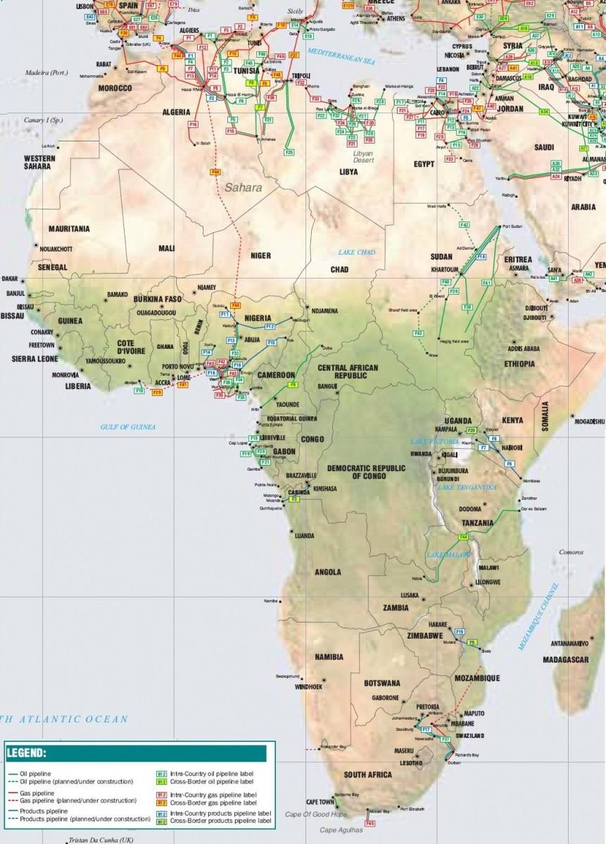 Africké produktovody