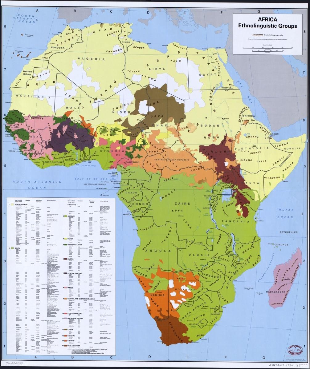 Etnické skupiny Afiky