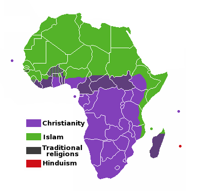 Náboženství Afriky