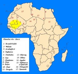 Ghanská říše a saharské oázy na transsaharských cestách