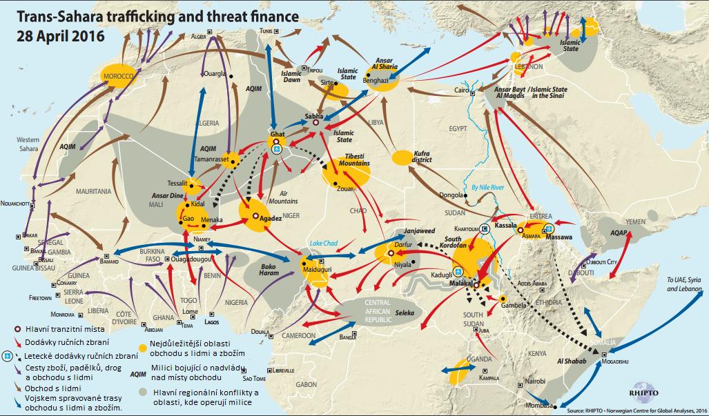 Saharské cesty a pašování (Autor: RHIPTO/Riccardo Pravettoni)