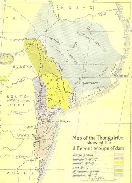 Území národa Tsonga