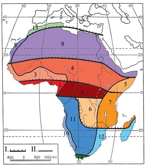 Podnebí Afriky