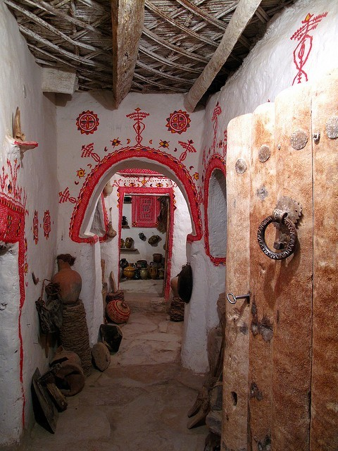 Ghadames - interiér; Autor: Neil Weightman (flickr.com)