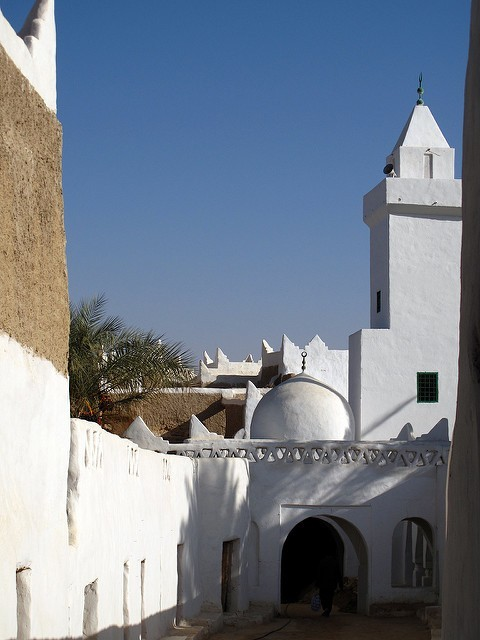 Ghadames - mešita; Autor: Neil Weightman (flickr.com)