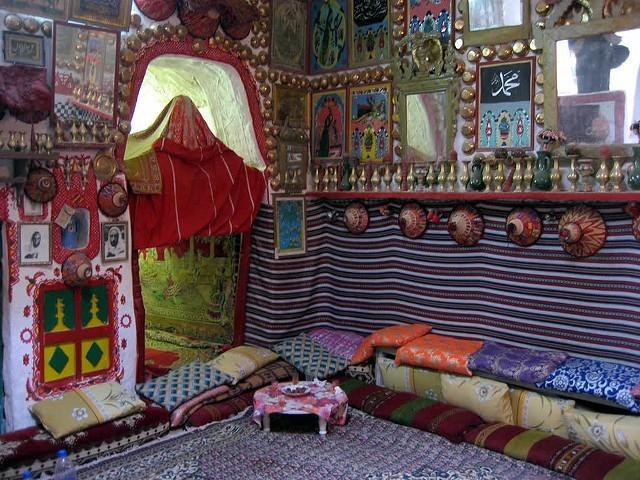 Ghadames - výzdoba interiéru; Autor David Stanley (flickr.com)