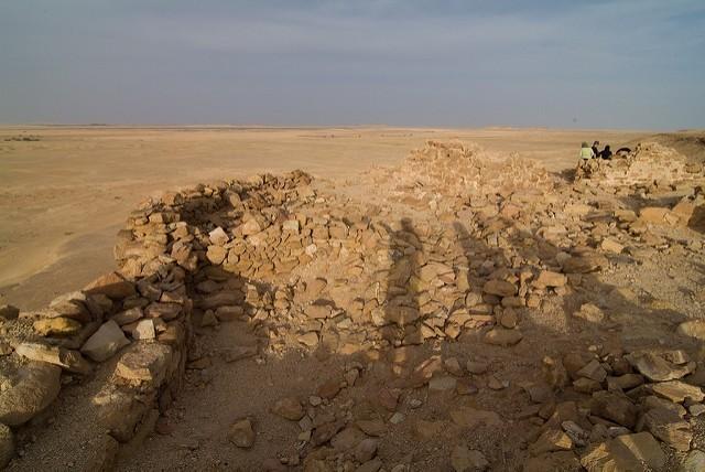 Ras al Ghoul - ruiny byzantské pevnosti; autor: snotch