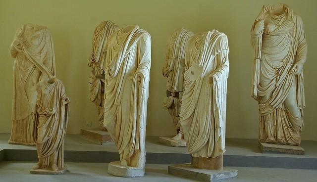 Sebastià Giralt: sochy neznámých Římanů
