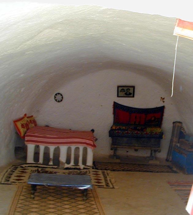 Matmata interiér