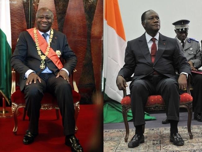 Gbagbo a Ouattara
