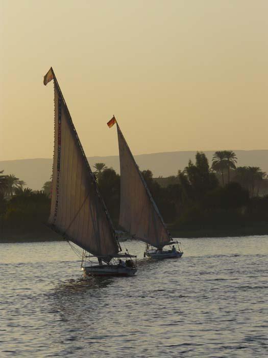 Feluky na Nilu (V. Zikán)