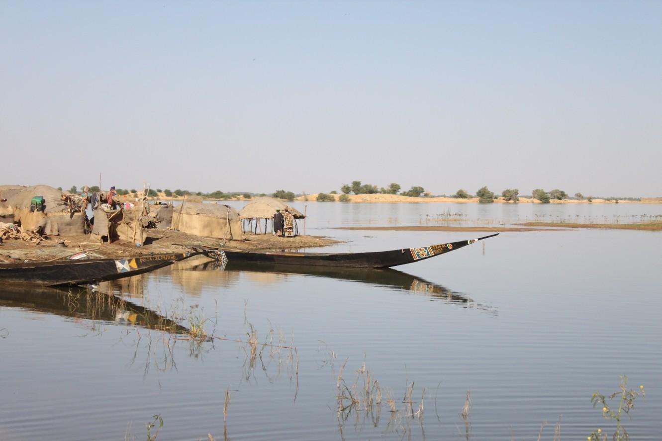 Řeka Niger, Mali (autor: Das_A)