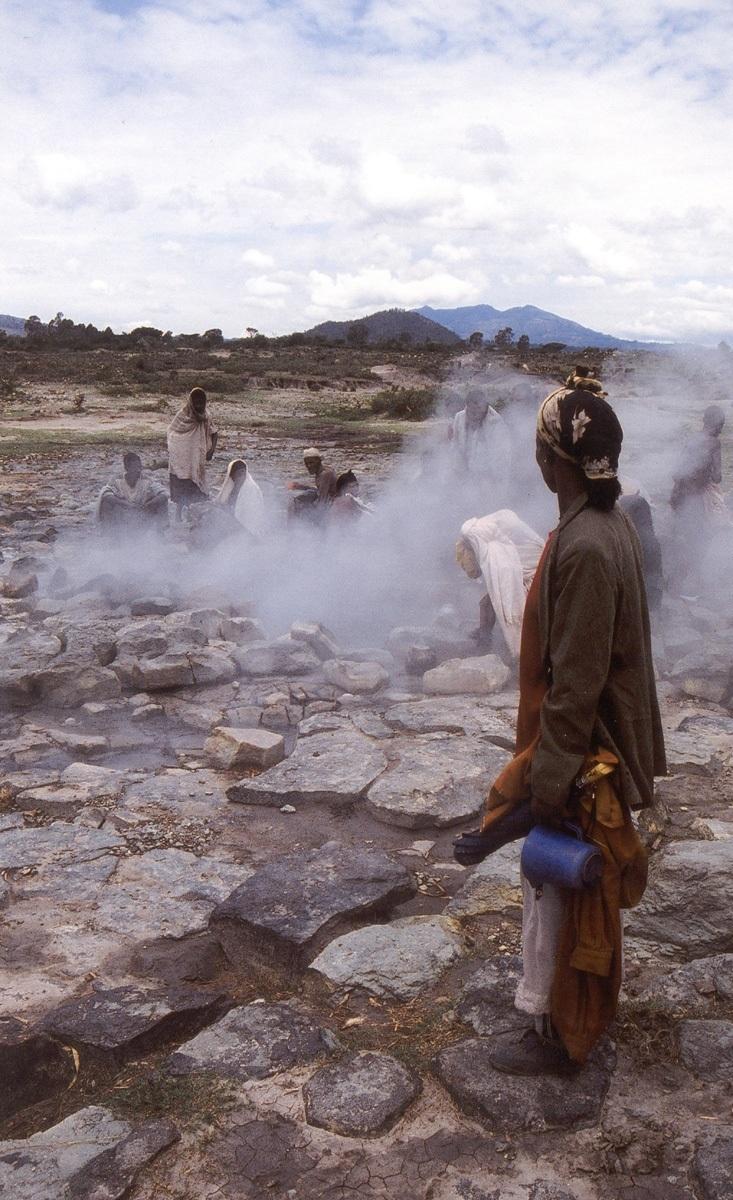 Horké prameny, Alaba, Etiopie