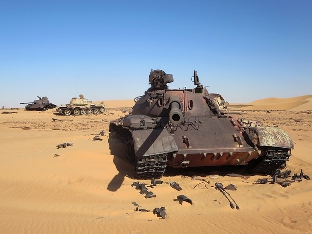 David Stanley: libyjský tank