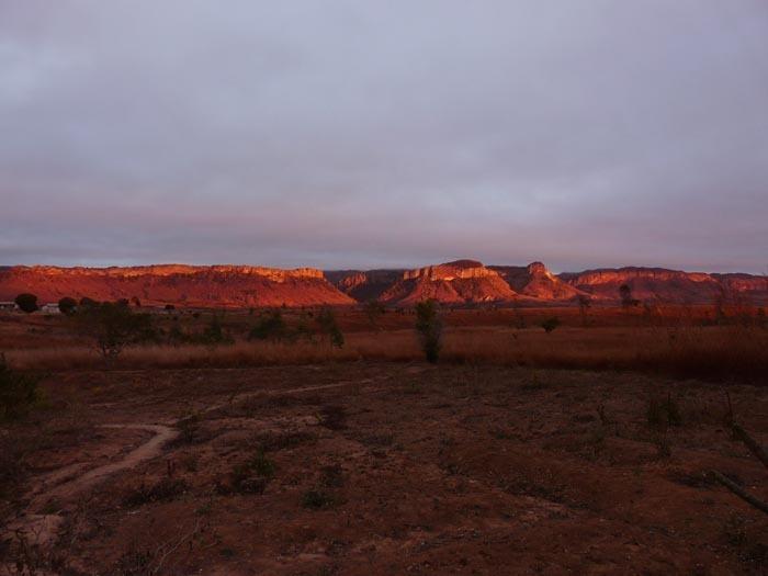 Západ slunce nad Isalem