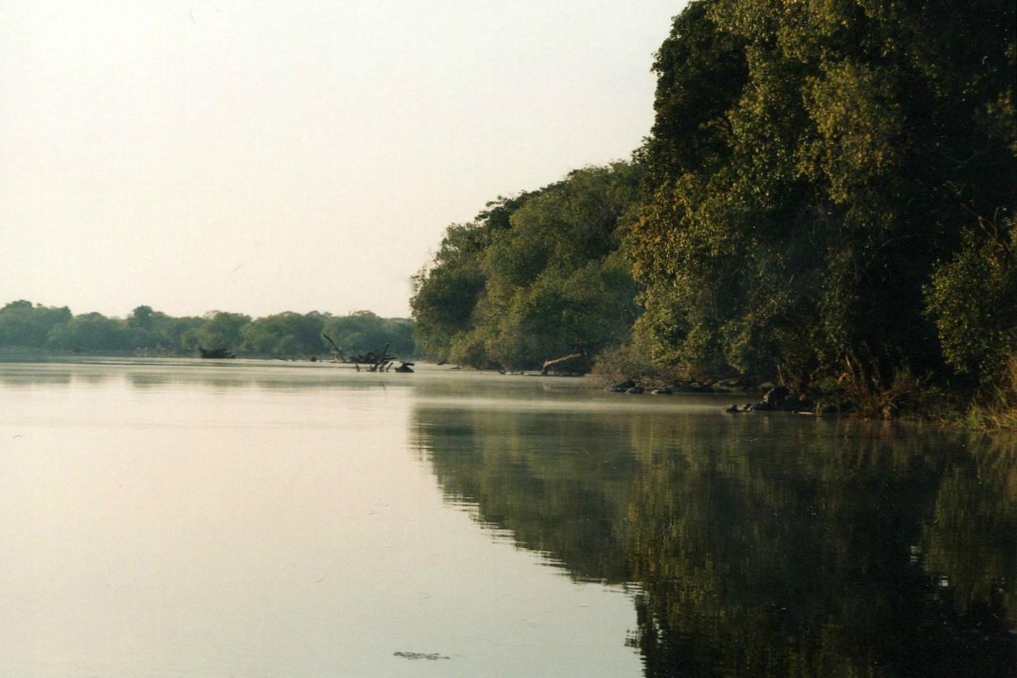 Řeka Kafue (N.P. KAfue, Zambie)