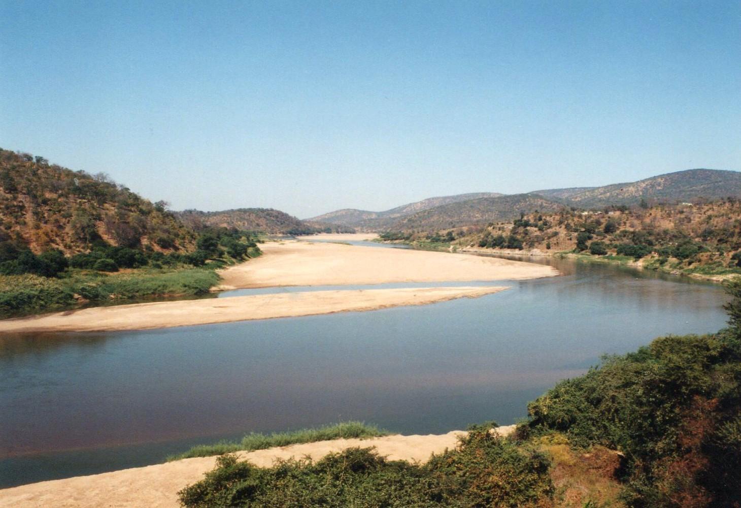 Řeka Luangwa, Zambie