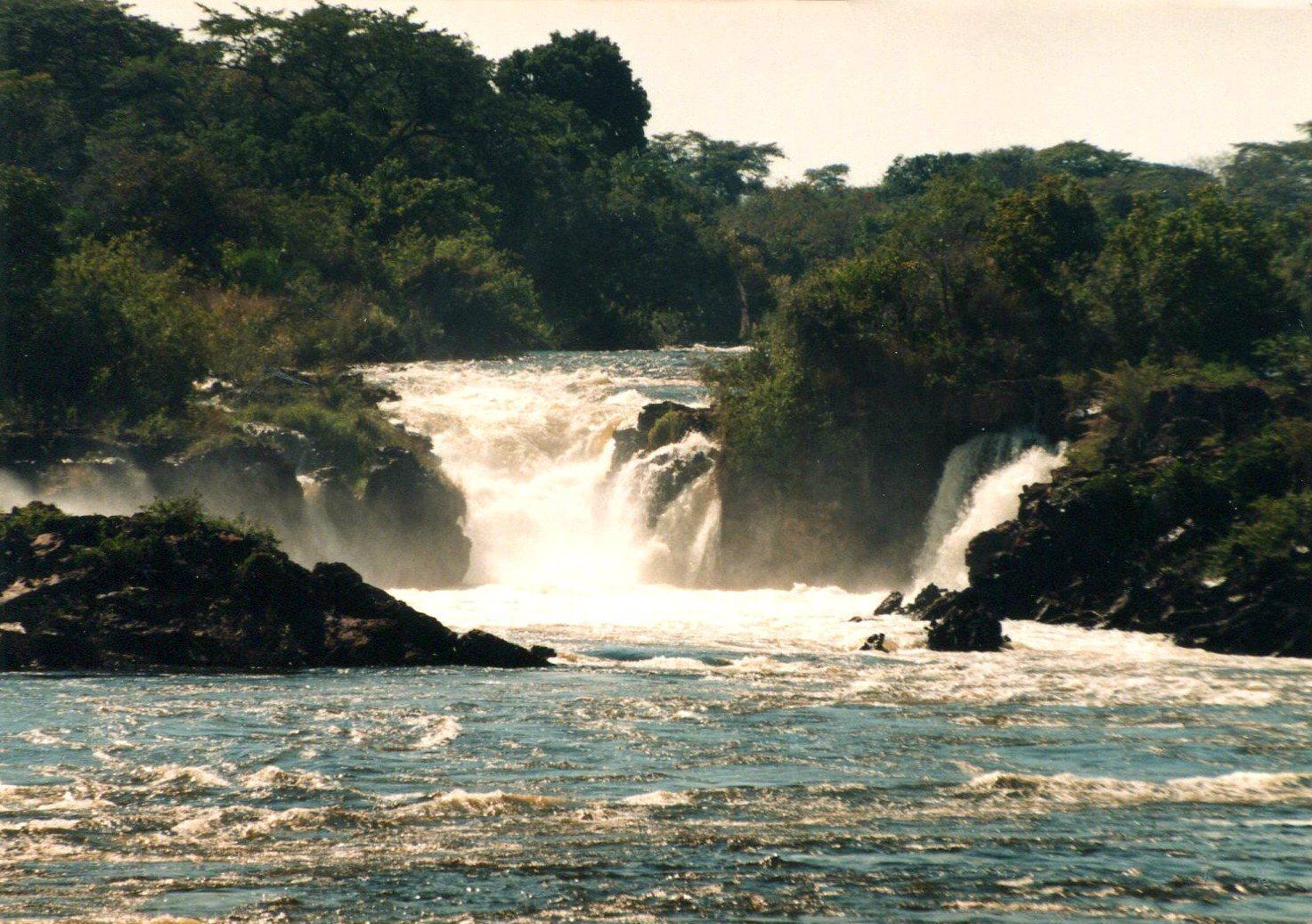 Vodopády Ngonye, Zambezi, Zambie