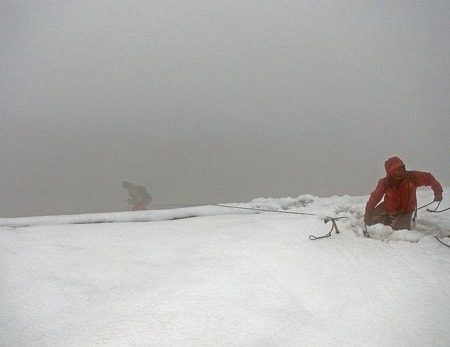 Ledovec Margherita, Ruwenzori; Autor: Jørn Eriksson