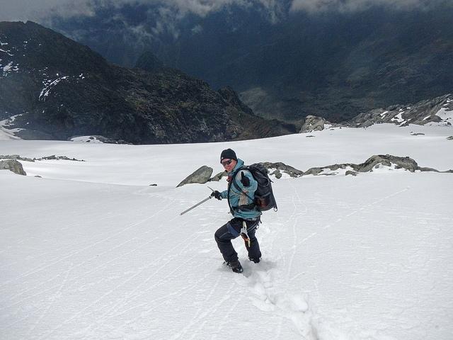 Sněhové pole na Mt. Speke, Ruwenzori; Autor: Jørn Eriksson