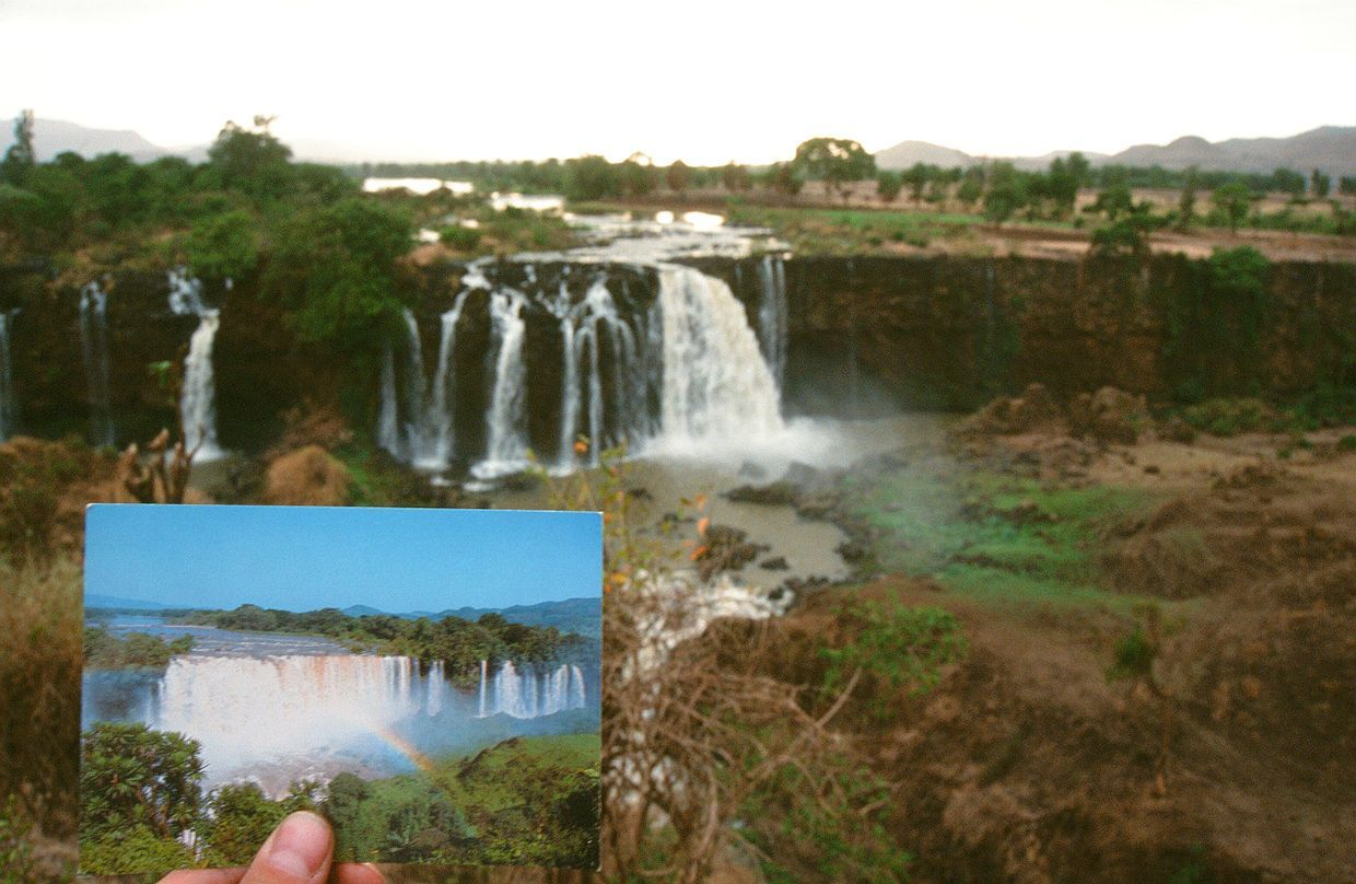 vodopády Tis Abbai (The Blue Nile Falls)