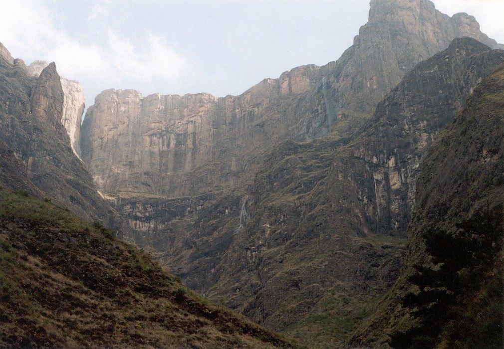 Tugela či Thukela Falls