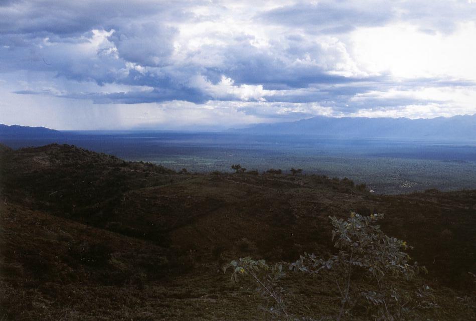 údolí řeky Woito, Etiopie