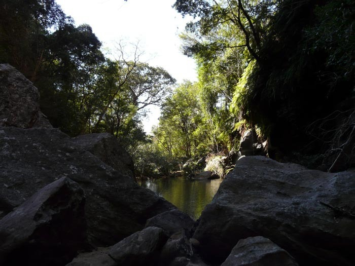 kaňon des Makis, Isalo, Madagaskar