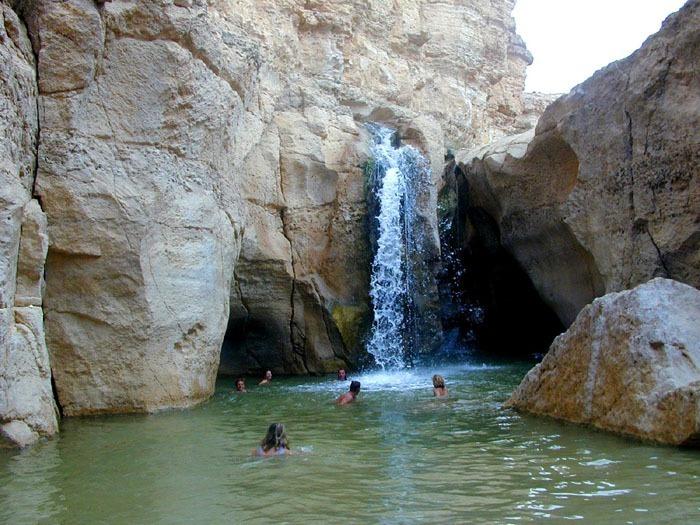Vodopád poblíž vesnice Tamighza