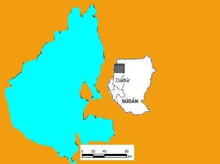 Mapa podzemního jezera