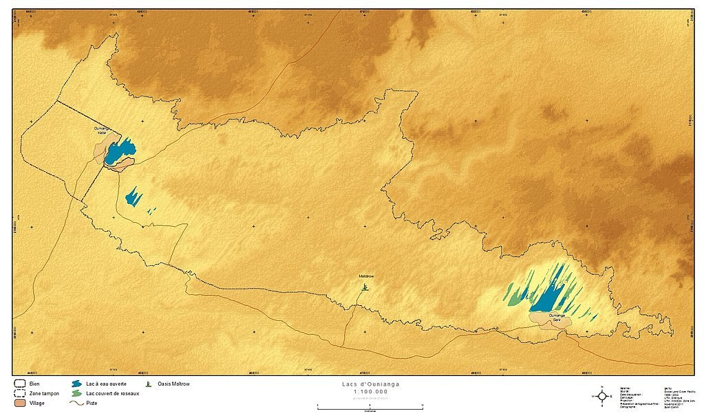 Ounianga mapa