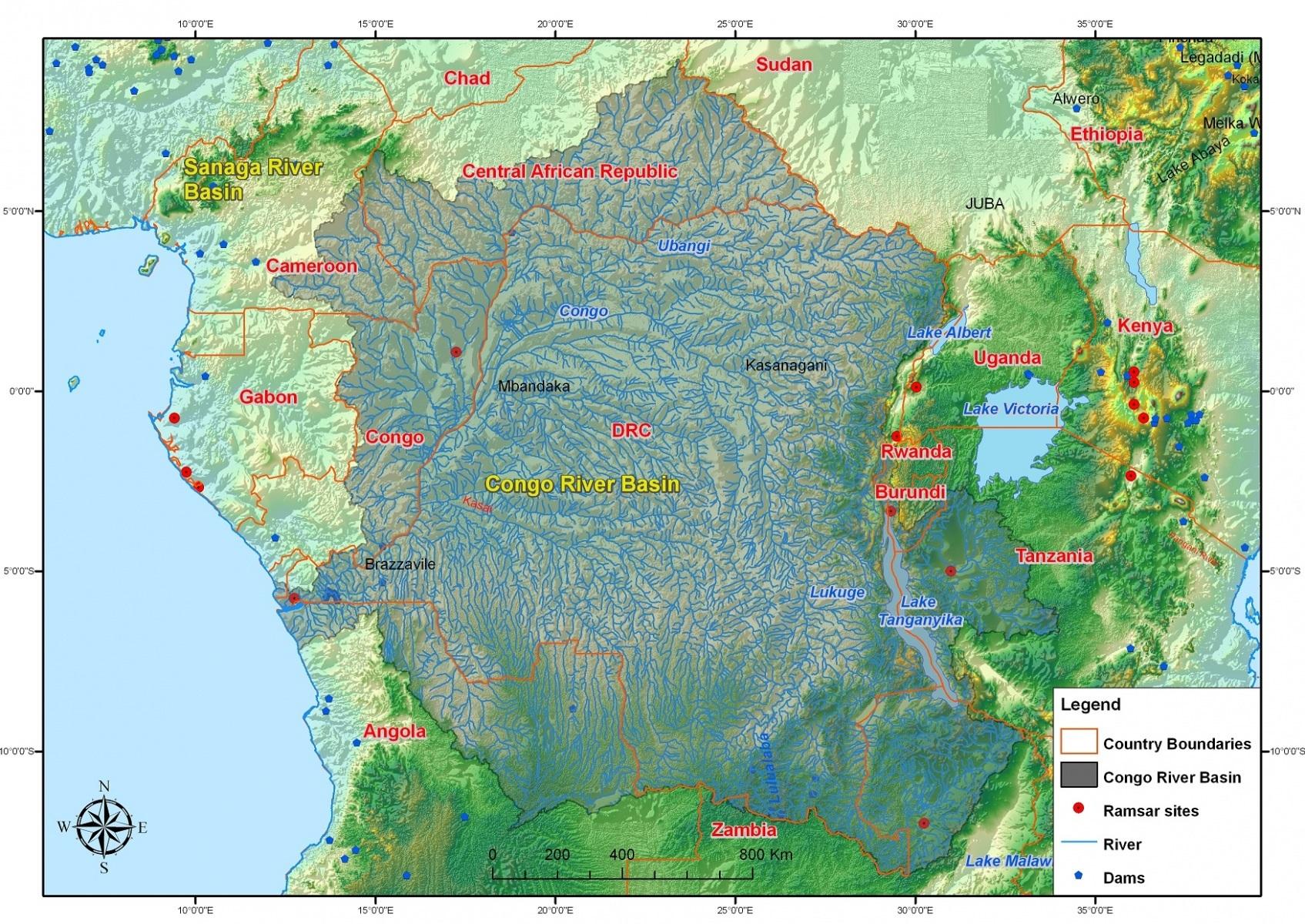 povodí řeky Kongo