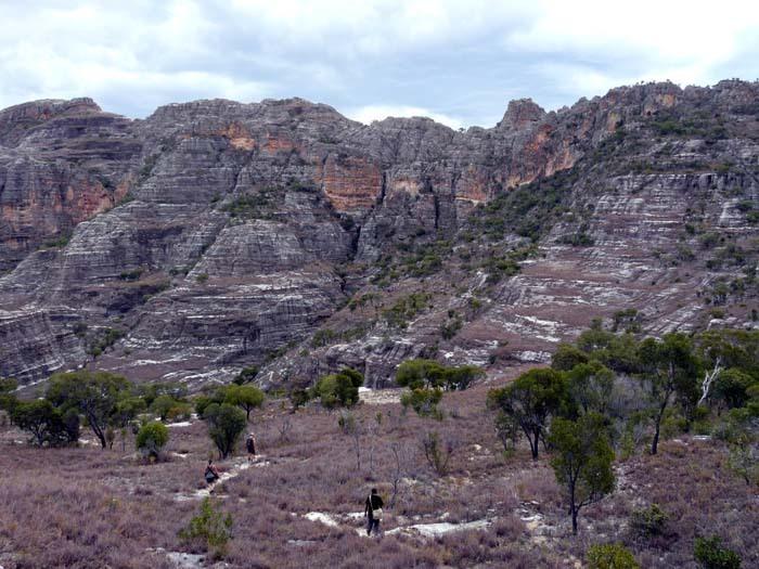 rokle v Isalo, Madagaskar