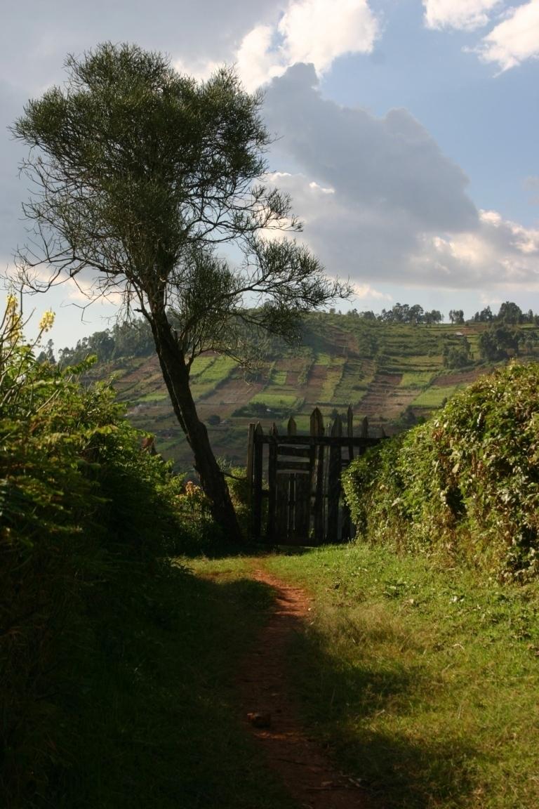 Krajina v okolí vesnice Tabaka,  Keňa (foto: Hana Morávková)
