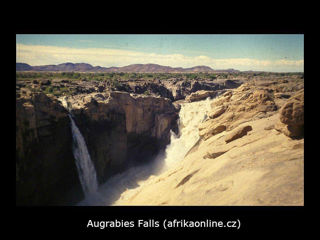 """Vodopády """"Augrabies Falls"""""""