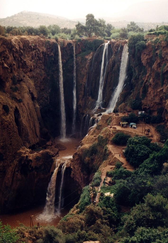 vodopády Ouzoud