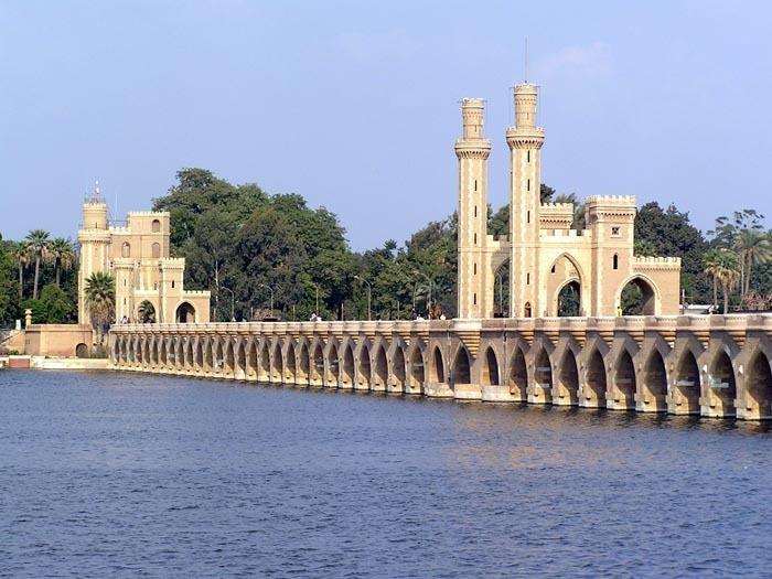 Přehradní zdrž Delta Barrage po Káhirou; Autor: Jana Pízová