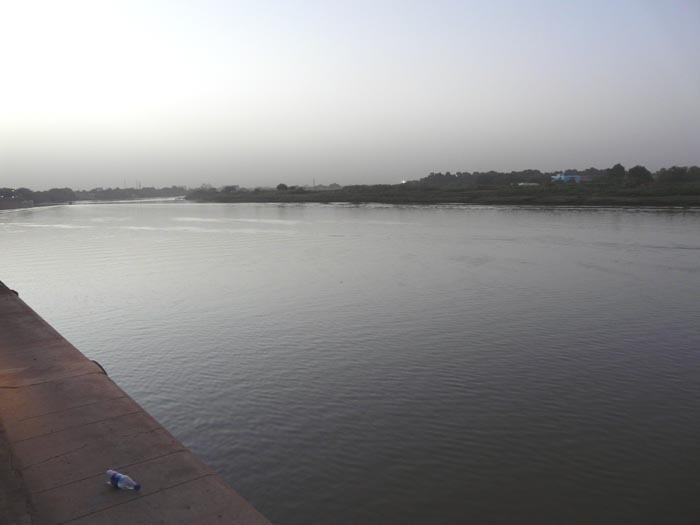 Modrý Nil v Chartúmu