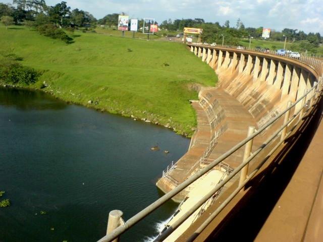 Nalubaale (Owen Falls) přehrada leží ve městě Jinja; Autor: Fredrick Onyango