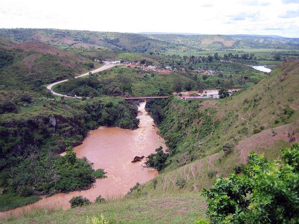Rusumo Falls na řece Kageře; Autor: SteveRwanda