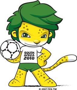 Zakumi maskot Mistrovství světa 2010