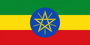 Etiopie - vlajka